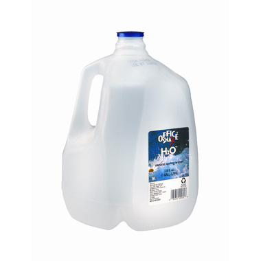 you can very cheaply add to your 30day water supply with 1 gallon water jugs